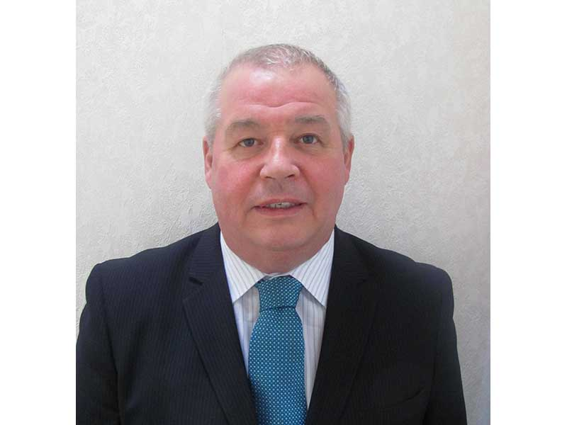 Gordon Wallace, new business manager for Scotland and the north west of England