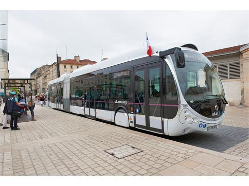 An Iveco Bus Crealis Bus in Nancy, France