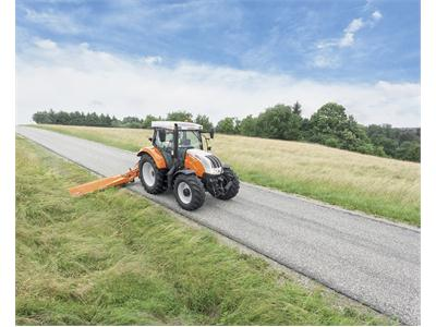 Continuously variable innovations for tractors and multifunctional solutions for municipal and forestry operations