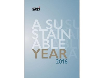 A Sustainable Year: CNH Industrial presents its 2016 highlights