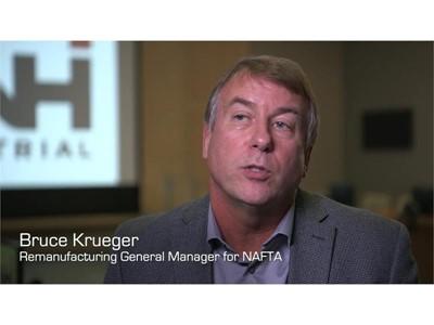 Bruce Krueger General Manager CNH Industrial Remanufacturing NAFTA