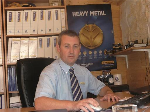 James Carroll New Holland's After Sales Manager for UK and Republic of Ireland