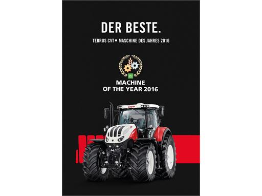STEYR TERRUS CVT – Quality Made in Austria awarded Machine of the Year 2016!