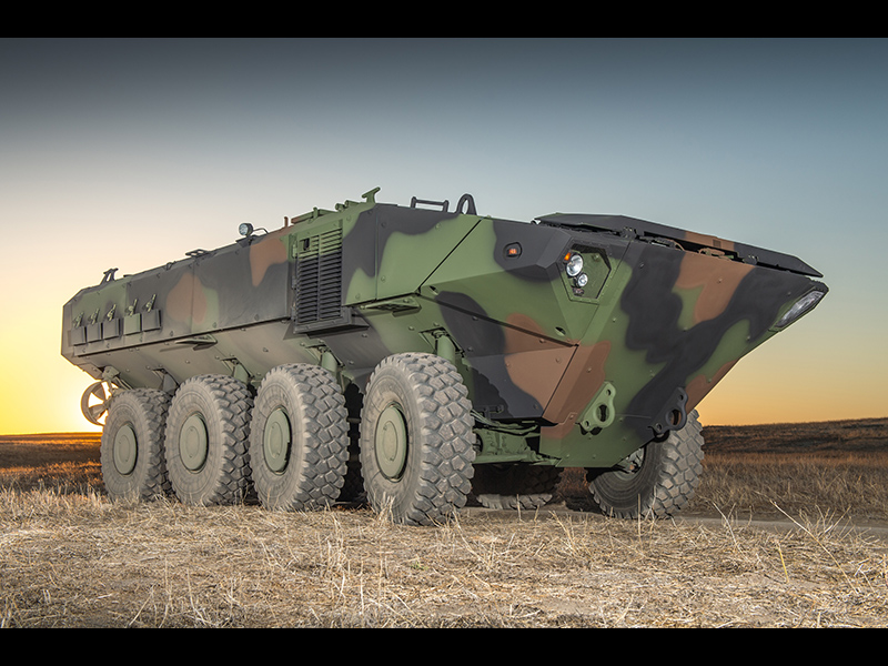 The Amphibious Combat Vehicle from Iveco Defence Vehicles