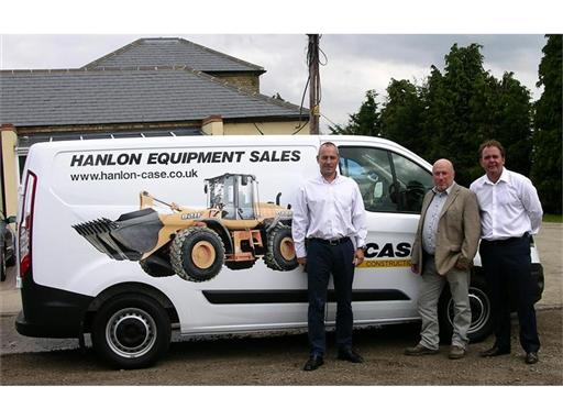 John Hanlon & Company a new Case Constuction Equipment UK dealer