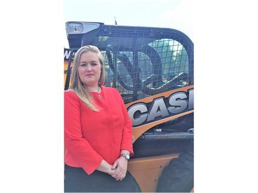 Jane Whittle, new Case Constuction Equipment dealer network manager