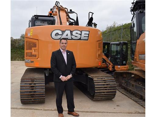 Matt Jennings: Case Construction Equipment UK strategic accounts manager for the south