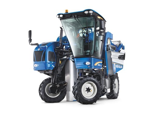 New Holland Braud Grape and Olive Harvesters Now Available Direct Through New Holland Dealers in North America