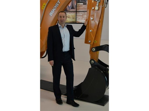Leigh Harris, Case Construction Equipment Business Director UK and ROI