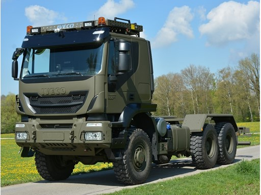 Iveco Defence Vehicles Euro 6 truck order to Swiss Armed Forces