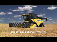 "New Holland wins the ""Maschine des Jahres 2012"" award in the Combine Category with the new CR Range"