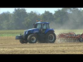 New Holland's new T8 Tractor