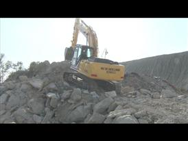 New Holland Construction crawler excavator E215C