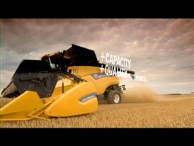 New Holland Agriculture CR Combine