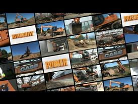 Case Wheeled Excavators