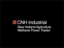 CNH Industrial Behind the Wheel: the New Holland Methane Power tractor
