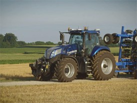 English - New Holland NHDrive Concept Autonomous Tractor Video