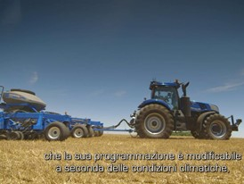 Italian – New Holland NH Drive Concept Autonomous Tractor Video