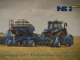 Portuguese  - New Holland NHDrive Concept Autonomous Tractor Video