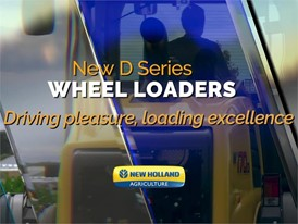 New Holland compact construction range for agriculture makes its debut  at SIMA 2017