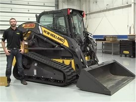 New Holland Compact Track Loader