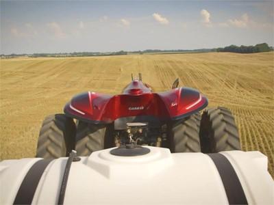 CNH Industrial Autonomous Concept Tractor Short Video