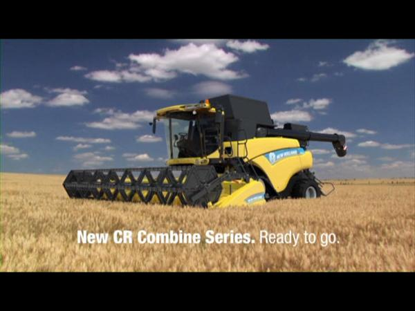 New Holland Agriculture CR Combine Robot