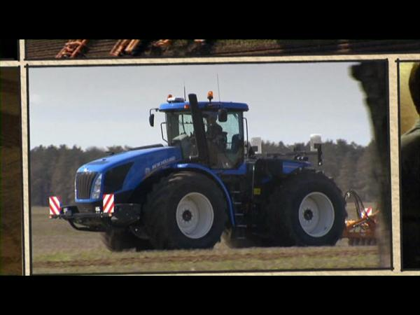 New Holland Agriculture T9 tractor