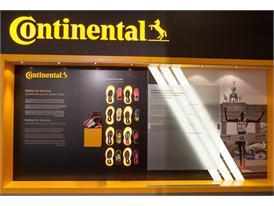Continental at IAA 2015 Continental Booth adidas