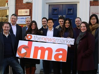 Digital and live news channels for brands, as DMA buys TheNewsMarket