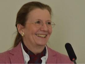 Co-organiser Christina Kahlert
