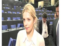 Timoshenko daughter backs European Parliament call for political boycott of Euro 2012, says economic sanctions eventual option