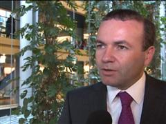 "EPP Group's Weber calls Association Agreement legally binding ""important first step"""