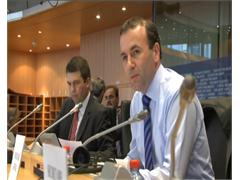 Manfred Weber, Chairman of the EPP Group in the E.P, comments special Eurozone summit on Greece