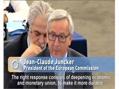 Debate on Greek crisis; EU-US trade talks boost; Backing for Carbon Emissions Trading