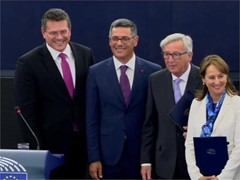 Syria; Climate deal; Reforms in Greece; EU Summit