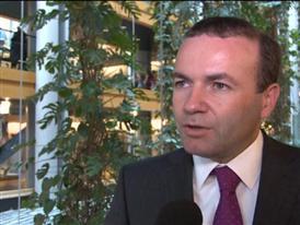 "EPP Group´s Weber calls Association Agreement legally binding ""important first step"""