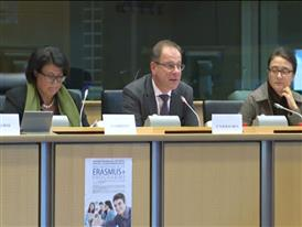 Erasmus programme promoted in an EPP Group hearing