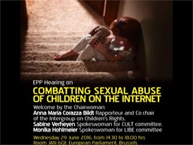 Combating child sexual abuse on the internet