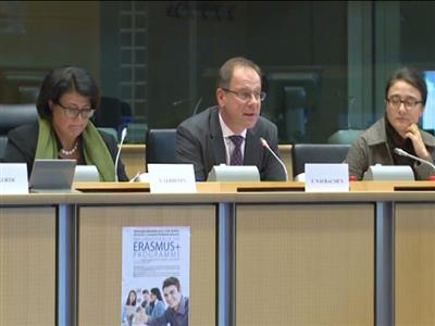Successful Erasmus Plus Programme Promoted in an EPP Group Hearing