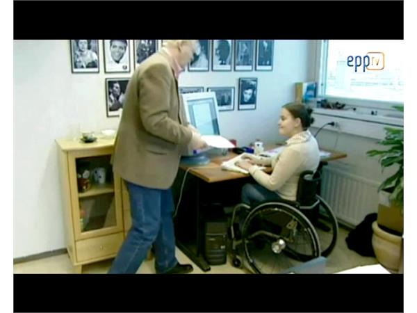 Europe must help people with disabilities to live independently, encourage private sector involvement
