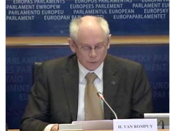 Rushes: Debate at the European Parliament on the Multiannual Financial Framework