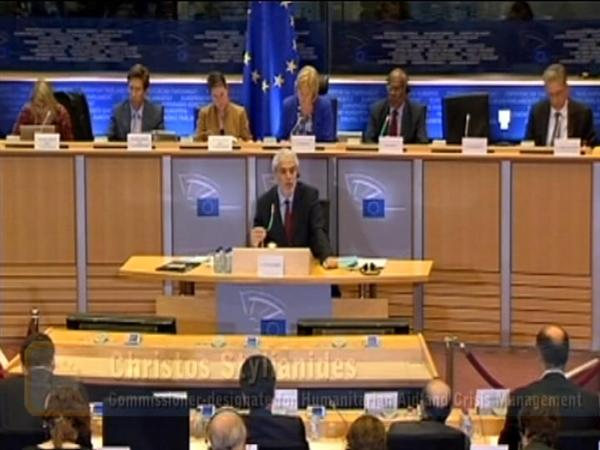 Stylianides promises prompt action to deal with humanitarian disasters
