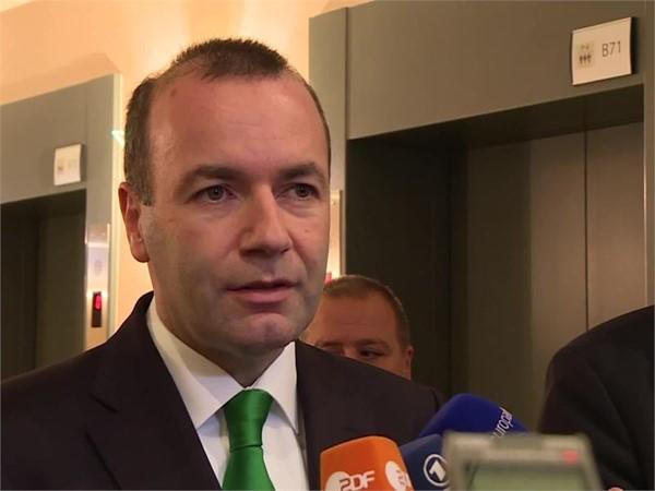 ´´Wir muessen den EU reformieren, aber kann Gross Britannien ueberleben?´´ --EVP Gruppe Vorsitzende Manfred Weber