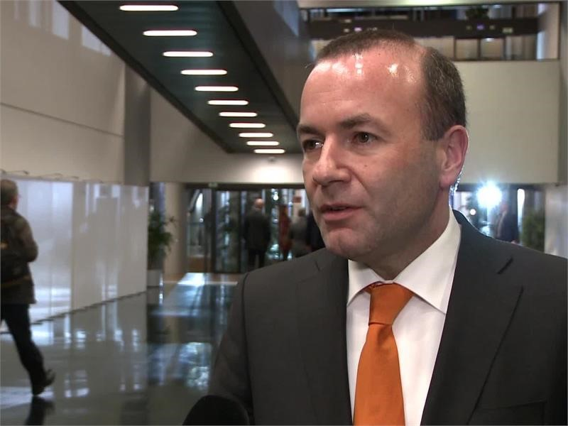 """EPP TV Newsroom : """"Europe is united and strong"""" – <b>Manfred Weber</b> ..."""