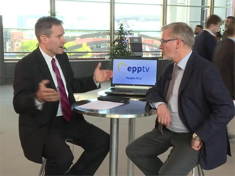 EPP TV Newsroom : <b>EU</b> common defence policy to face external ...