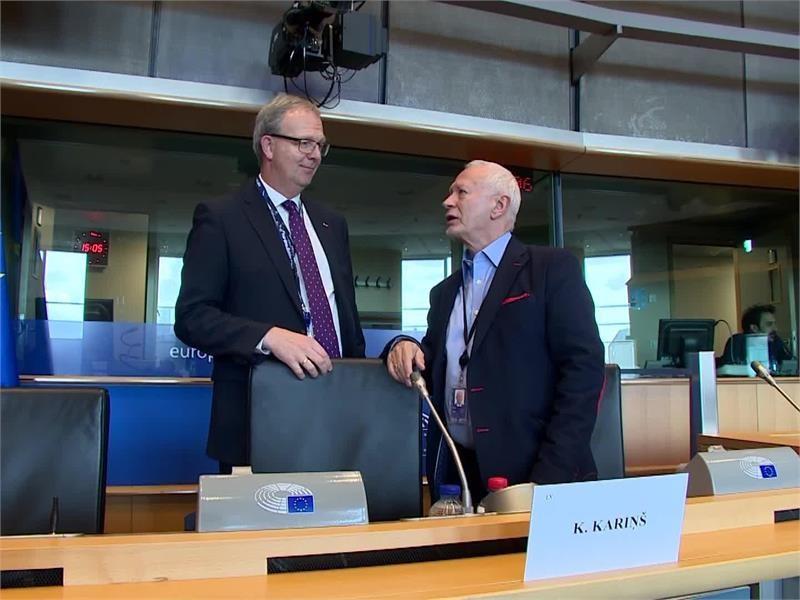 EPP TV Newsroom : Strengthening cybersecurity is EPP Group priority