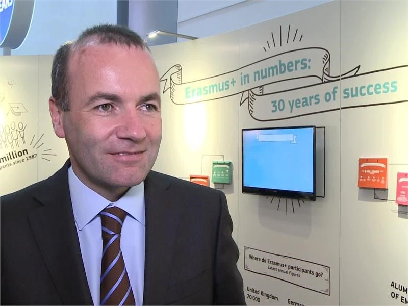 EPP TV Newsroom : Erasmus celebrates 30 years of success