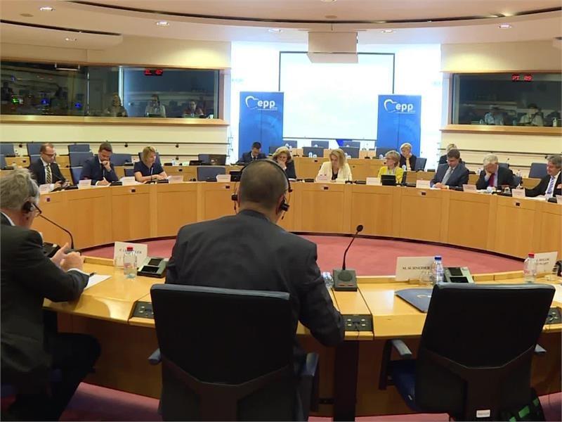 <b>EPP</b> TV Newsroom : <b>EPP</b> MPs and MEPs Tackle Globalisation