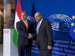 European Parliament shows support for Hungarians' fundamental rights